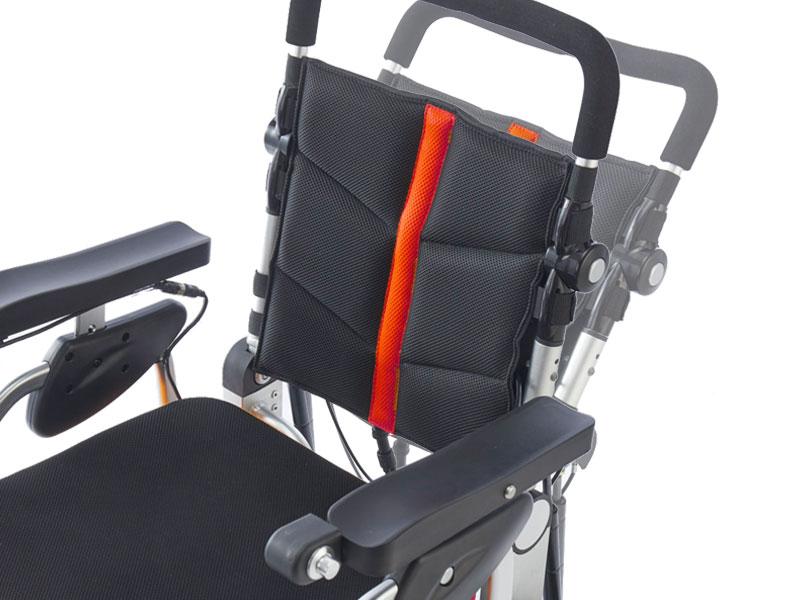 Verstelbare rughoek voor een actieve of meer relaxte zit | Rugleuning voorzien van spanbanden