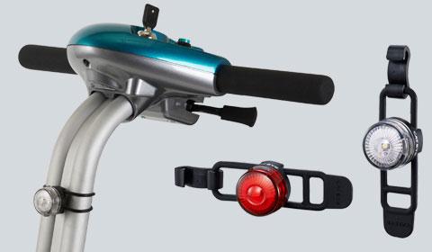 Verlichtingsset voor de Brio Scootmobiel