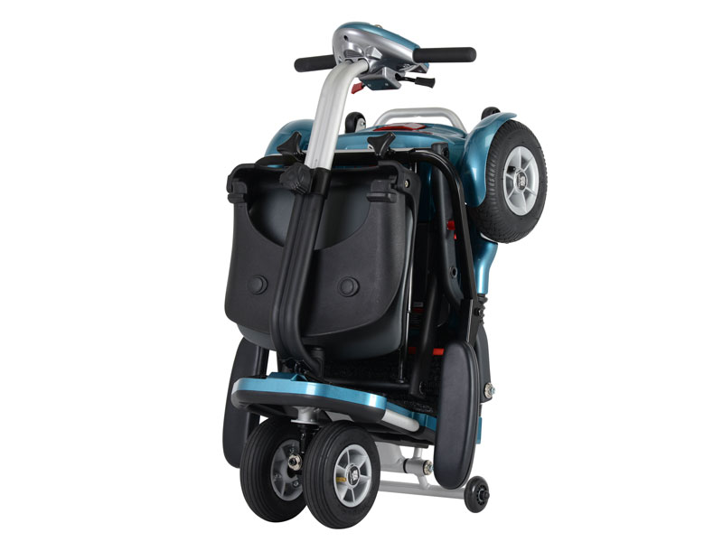 Compact en als trolley met u mee te rollen