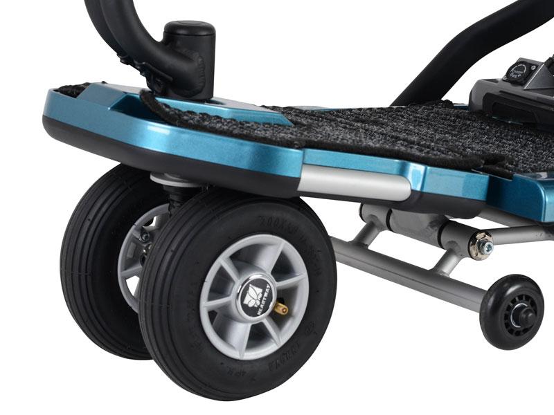 """Brede 8"""" en 9"""" luchtbanden voor meer rijcomfort (en bodemvrijheid)"""