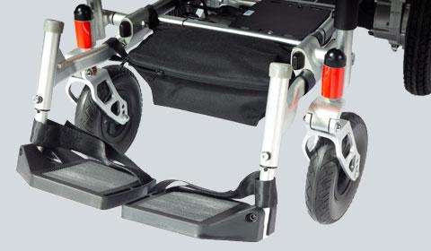 Dubbele voetsteunen voor de Smart Chair