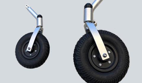 Extra set voorwielen voor de Smart Chair