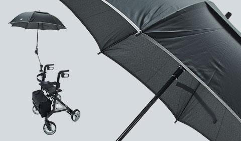 Paraplu incl. bevestiging