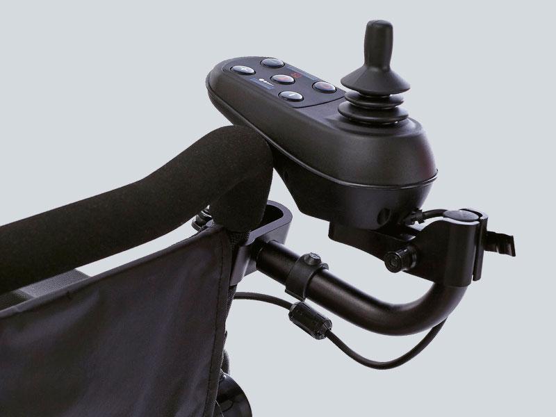 Smartchair joystickhouder achterop
