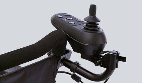 Extra joystick houder achterop voor de Smart Chair