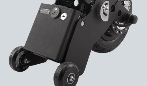 Extra lithium accu voor de Yomper hulpmotor