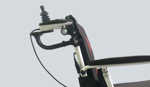 Extra joystick houder achterop voor de Smart Chair Travel