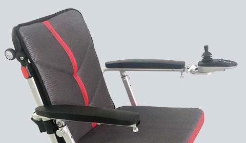 Linkshandige joystickhouder voor de Smart Chair Travel