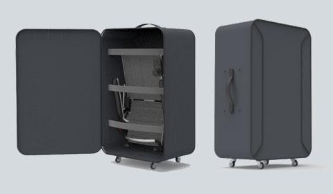 Opbergkoffer voor de Smart Chair Travel