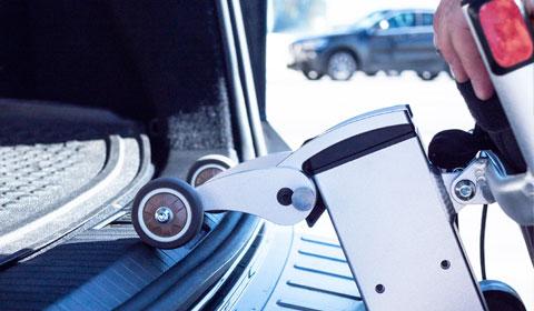 SmartRoll voor de Smart Chair Travel
