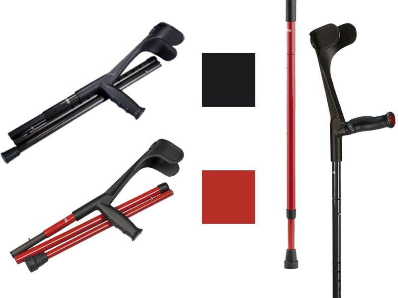 Verkrijgbaar in rood en zwart met typisch carbon ruitjespatroon