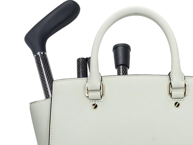 Makkelijk in uw handtas mee te nemen