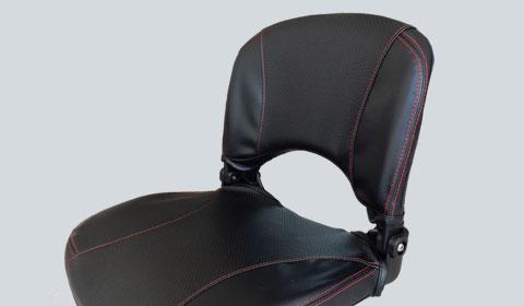 Comfort seat voor de Brio Scootmobiel