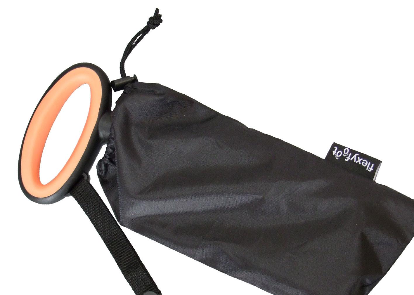 Compact op te bergen in bijgeleverde tas