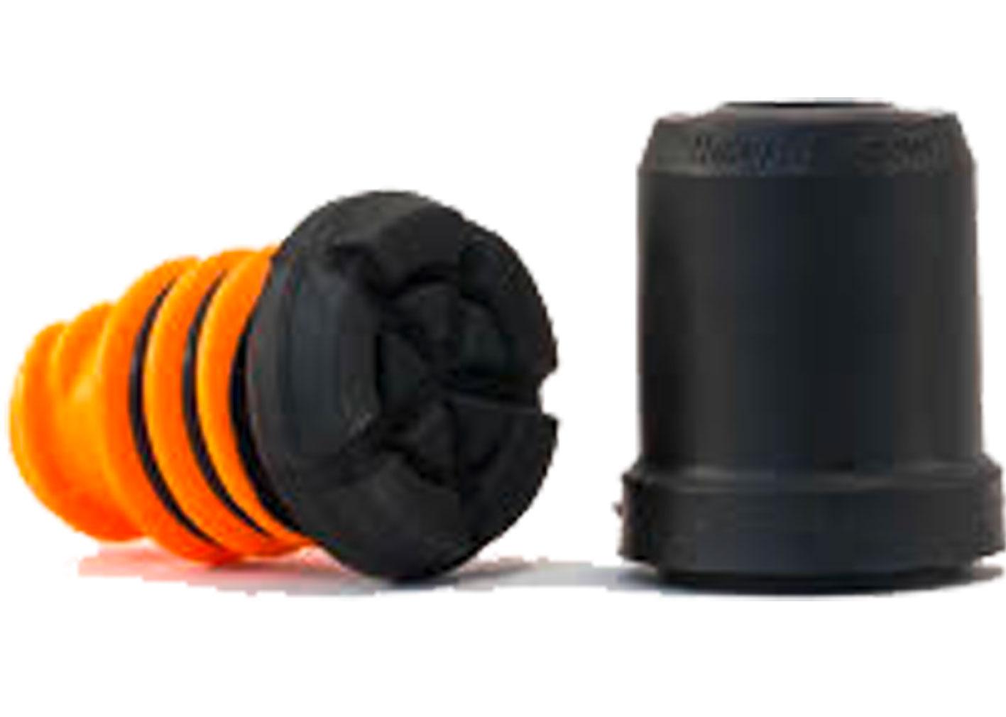 Duurzamer dan traditionele rubberdoppen; onderste voetstuk is eenvoudig te vervangen