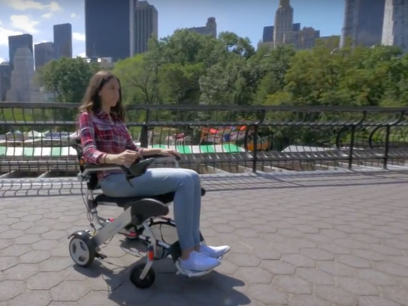 De Smart Chair Original is klaar om u rond te leiden